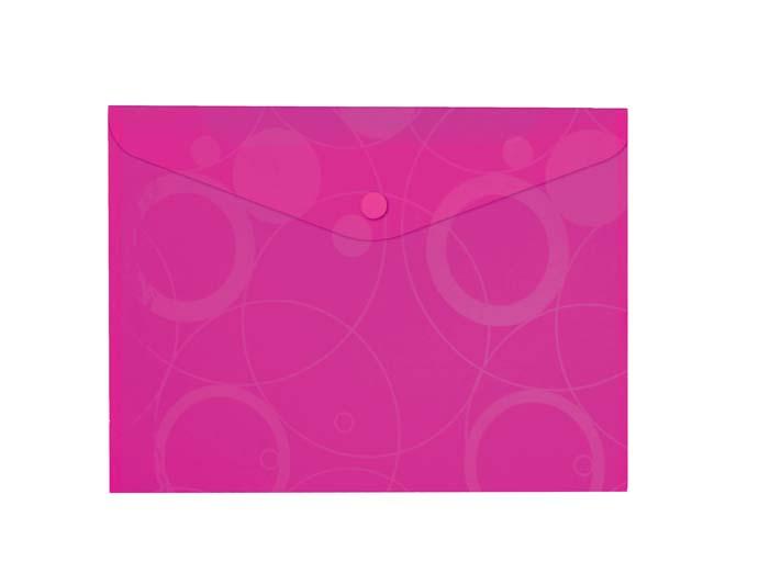 Spisové desky s drukem A4 NeoColori - růžová