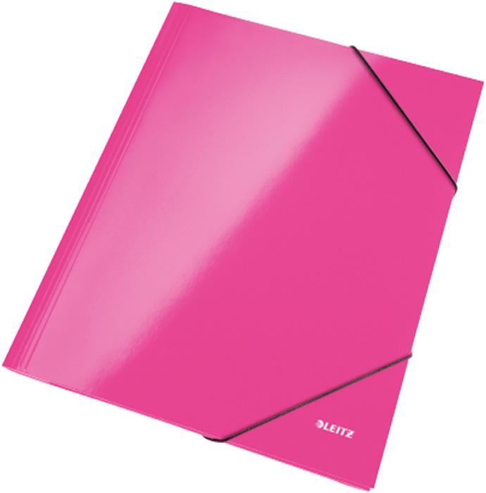 Spisové desky Leitz WOW - růžová