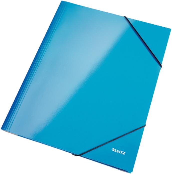 Spisové desky Leitz WOW - modrá