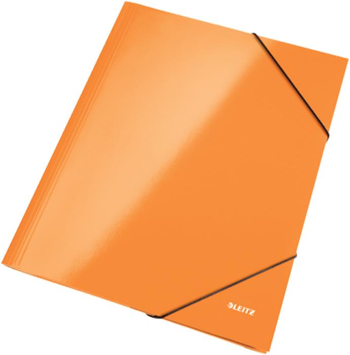 Spisové desky Leitz WOW - oranžová