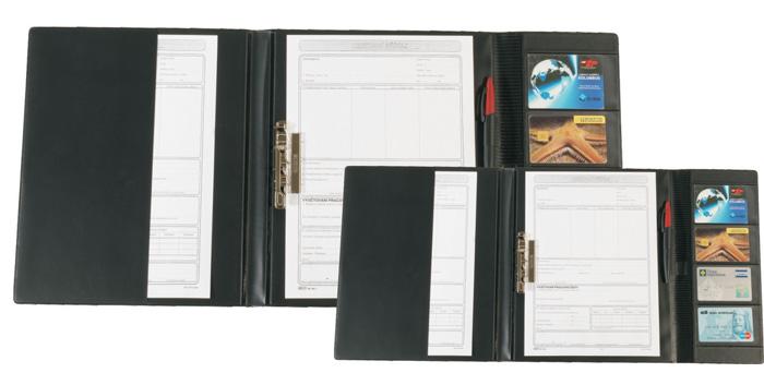 Desky pro řidiče - A4 / černá
