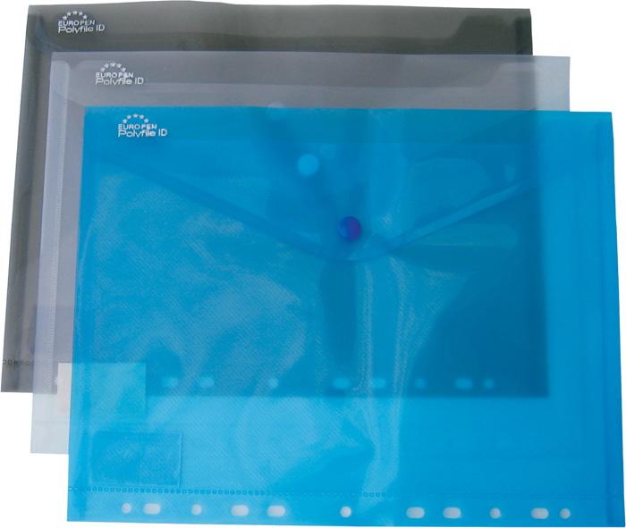 Spisové desky A4 s drukem závěsné - modrá