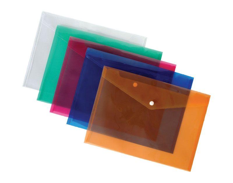 Spisové desky A5 s drukem - oranžová
