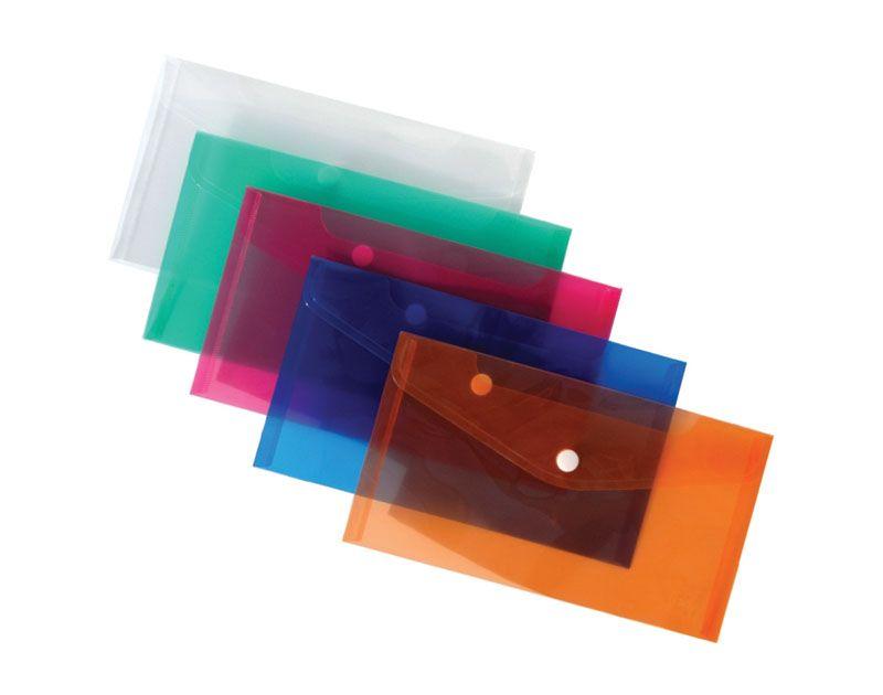 Spisové desky DL s drukem - oranžová