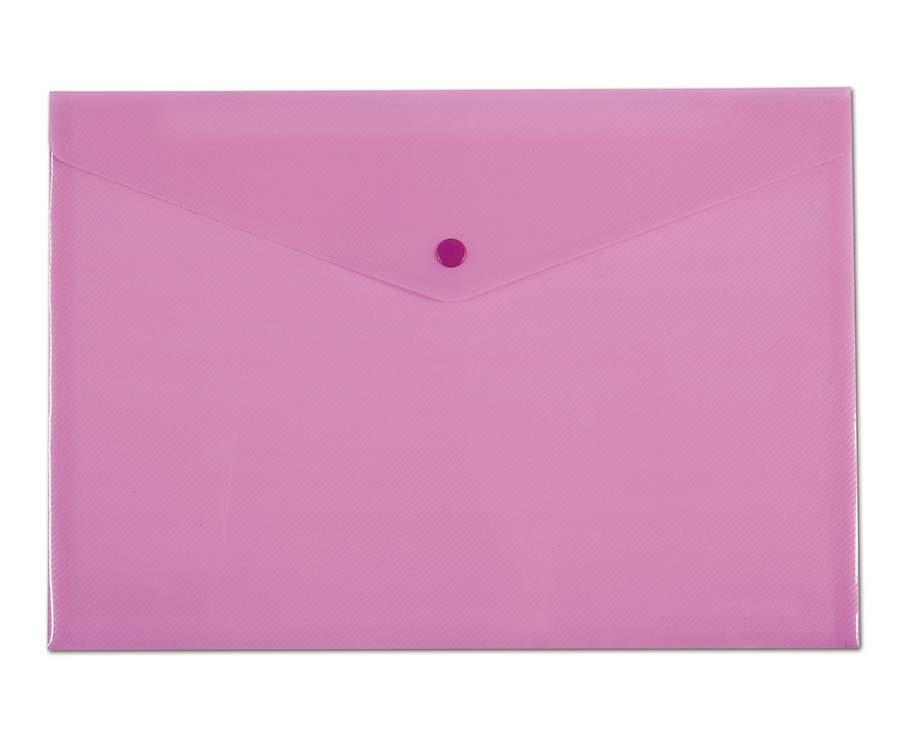 Spisové desky v pastelových barvách - A4 / růžová