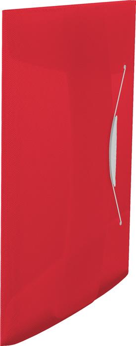 Spisové desky A4 s gumou Vivida - červená