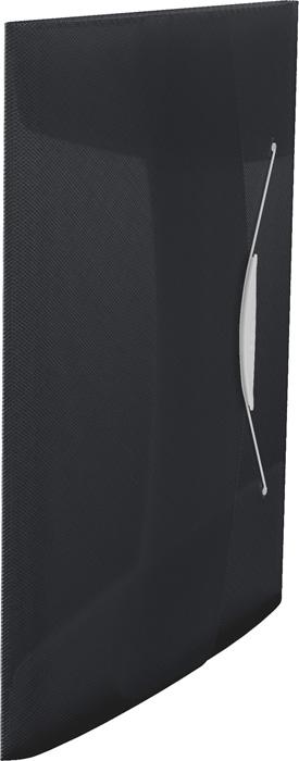 Spisové desky A4 s gumou Vivida - černá