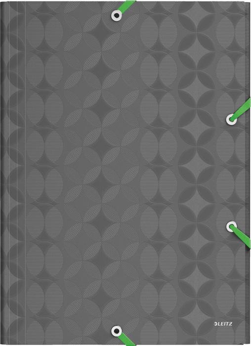 Spisové desky A4 Retro Chic - tmavě šedá