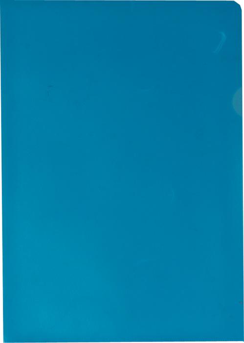 Zakládací obal A4 barevný - tvar L / modrá / 100 ks