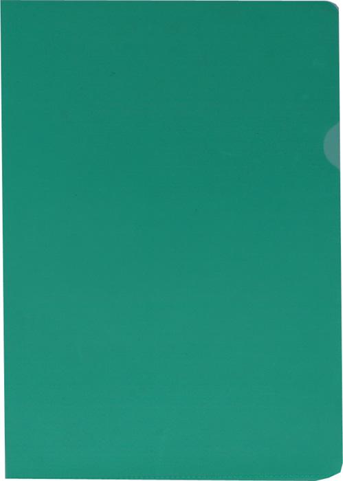 Zakládací obal A4 barevný - tvar L / zelená / 100 ks
