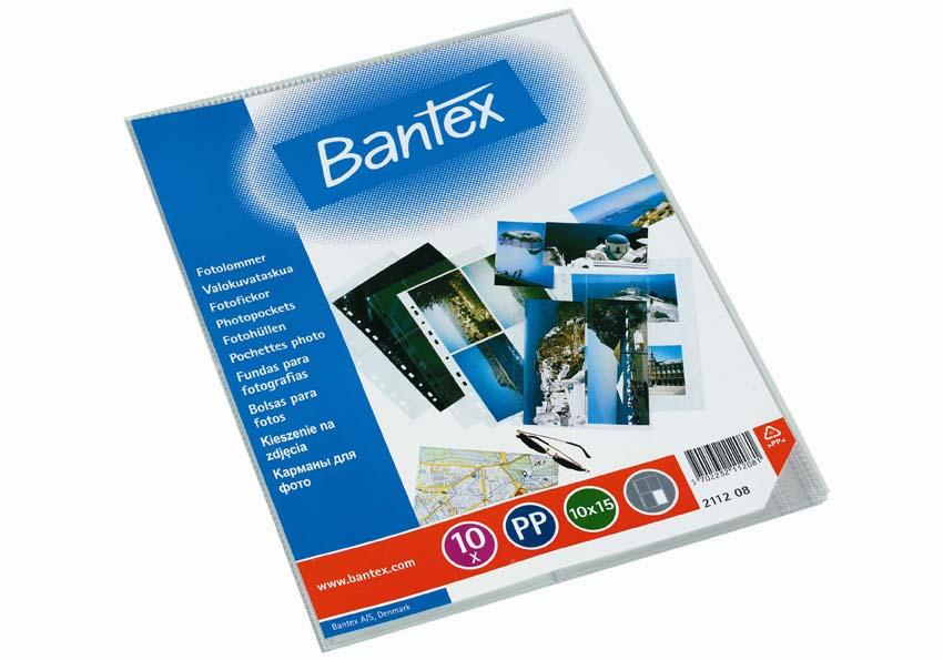 Závěsný obal Bantex - A4 silný / kapsy na foto 10 x 15 / 10 ks