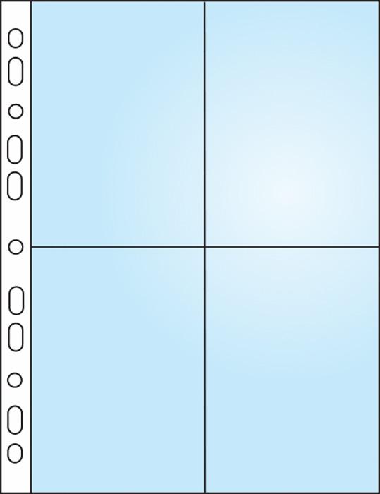 Závěsný obal Bantex - A4 silný / kapsy na foto 9 x 13 / 10 ks