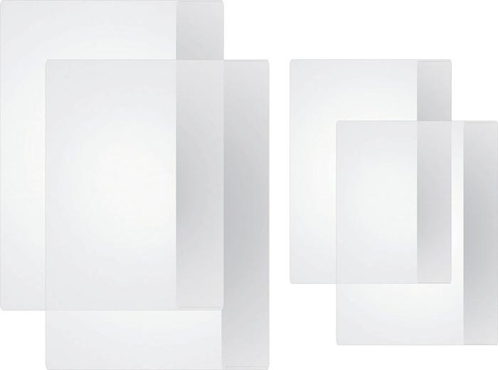Obaly na sešity - A4 / čiré / 10 ks