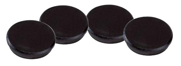 Magnety černé Dahle - průměr 32 mm / 10 ks