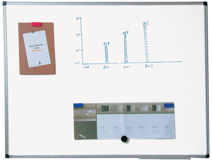 Tabule bílá magnetická Premium - 100 x 150 cm