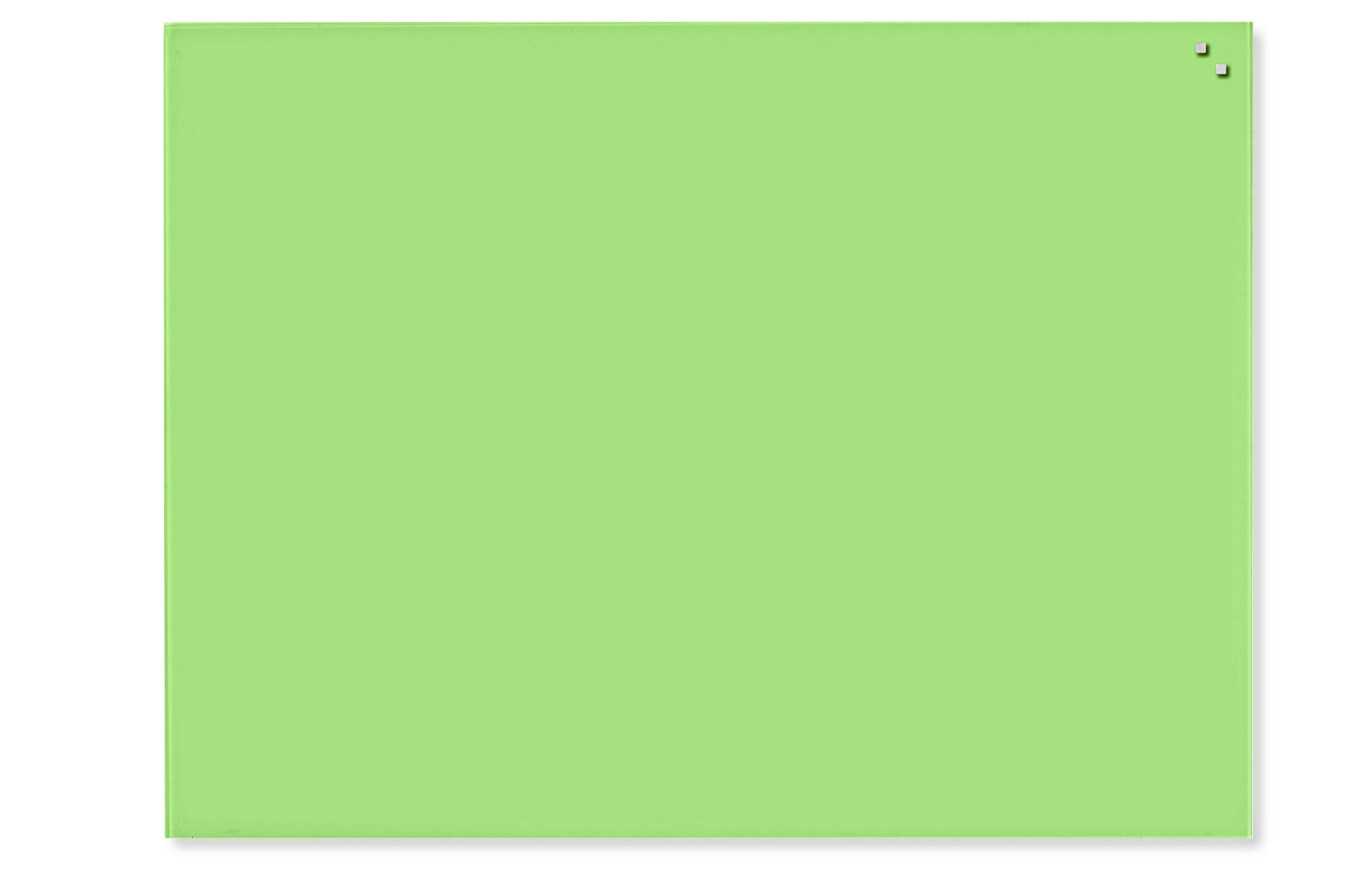 Tabule magnetické skleněné - 60 x 80 cm / sv.zelená