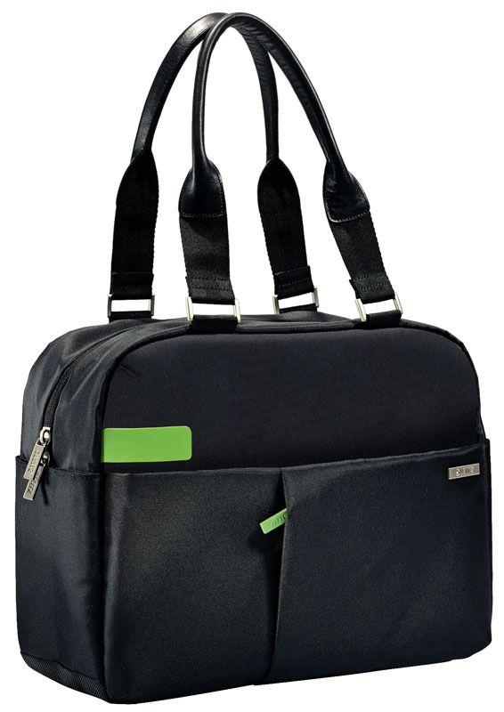 """Dámská taška na notebook Leitz Complete - černá / 3,3"""""""