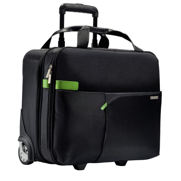 Kufr na kolečkách Leitz Complete, černá