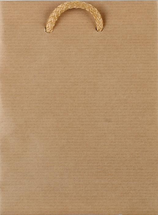 Tašky papírové EKO hnědé - malá / 130 x 60 x 180 mm
