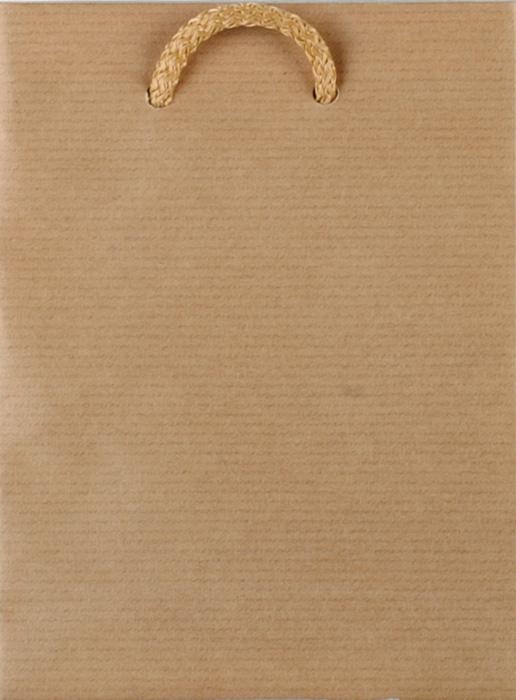 Tašky papírové EKO hnědé - střední / 160 x 80 x 260 mm