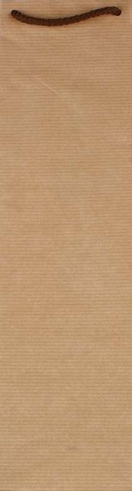 Tašky papírové EKO hnědé - na láhev / 110 x 80 x 390 mm
