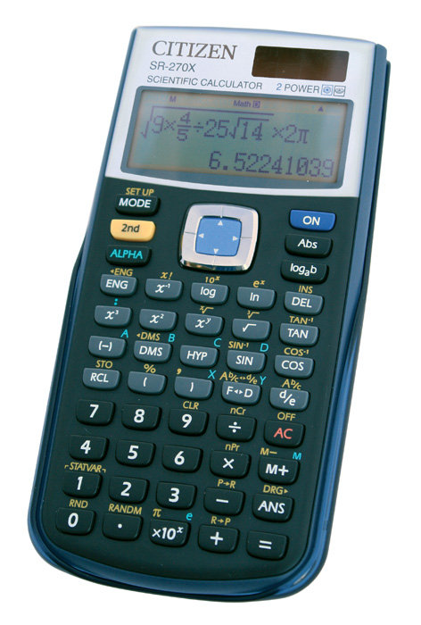 Kalkulačka Citizen SR 270X - displej 10 míst