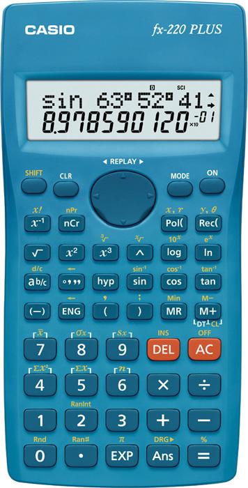 Kalkulačka Casio FX 220 plus - displej 10+2 místa