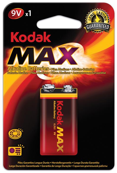 Baterie Kodak alkalické - baterie 9V / 1 ks