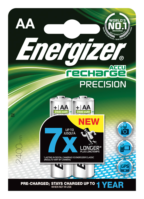 Nabíjecí baterie Energizer - 2 ks / AA