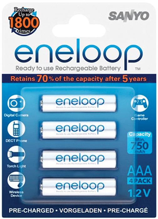 Nabíjecí baterie Eneloop - 4 ks / AAA