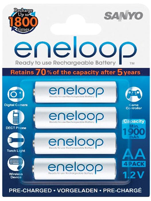 Nabíjecí baterie Eneloop - 4 ks / AA