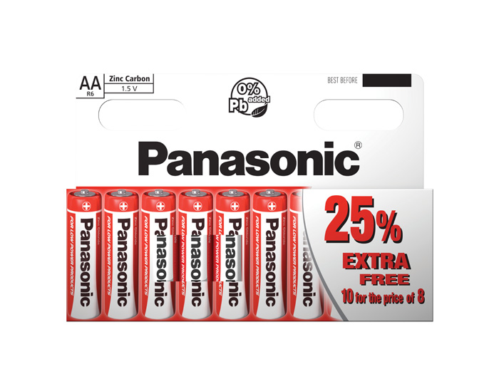 Baterie Panasonic - baterie tužková / AA / 10 ks