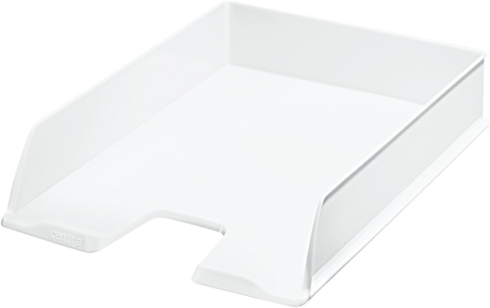 Kancelářský box na spisy Centra - bílá