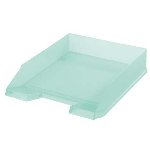 Kancelářský box na spisy Heritz - mint / zelená