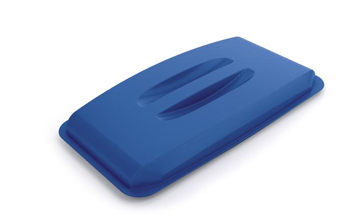 Odpadkové koše Durabin 60 l - víko / modrá