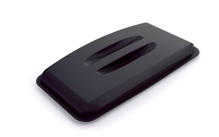 Odpadkové koše Durabin 60 l - víko / černá