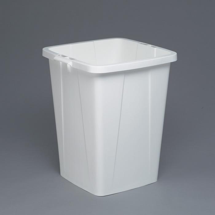 Odpadkové koše Durabin 90 l - koš / bílá