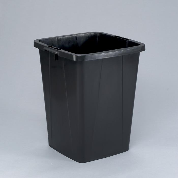 Odpadkové koše Durabin 90 l - koš / černá
