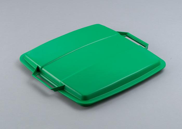 Odpadkové koše Durabin 90 l - víko / zelená