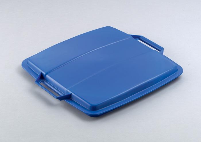 Odpadkové koše Durabin 90 l - víko / modrá
