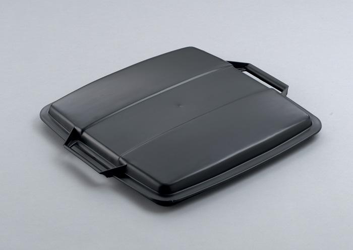 Odpadkové koše Durabin 90 l - víko / černá