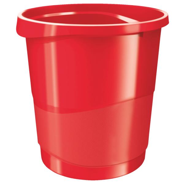 Koš odpadkový Vivida - červená