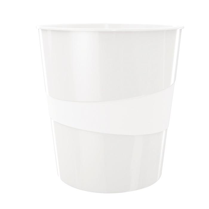 Koš odpadkový Leitz WOW - bílá