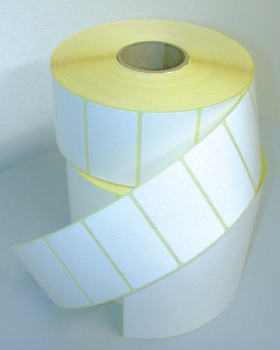 Etikety pro termotransferové tiskárny - 32 x 16 mm / 5000 etiket na kotouči