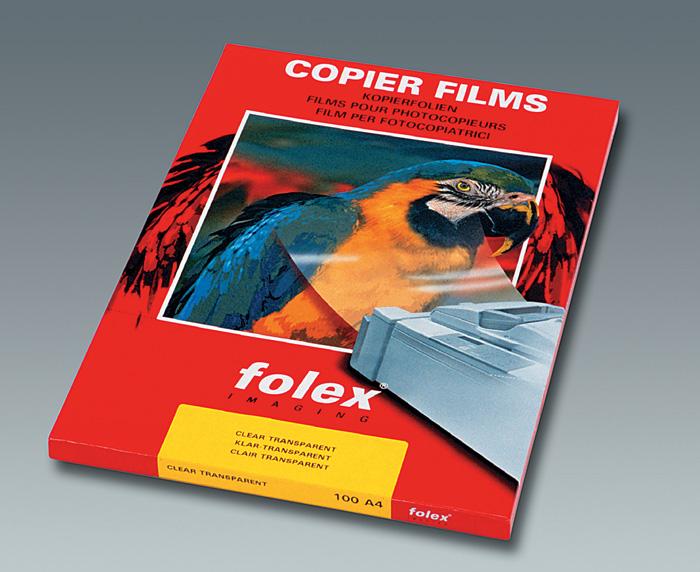 Fólie Folex - fólie X 10.0 pro čb laserový tisk / 100 ks
