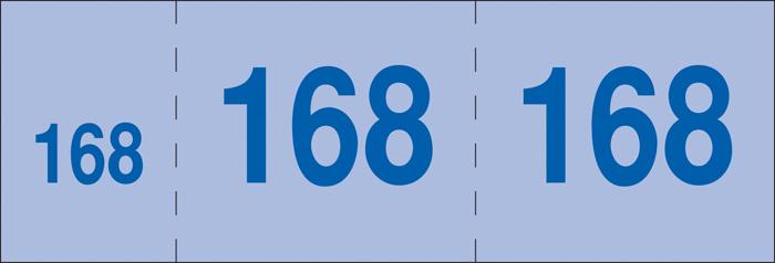 Šatnové bloky a bločkové vstupenky - 135 x 47 mm / 1-200 / 8 odstínů barev / ET295