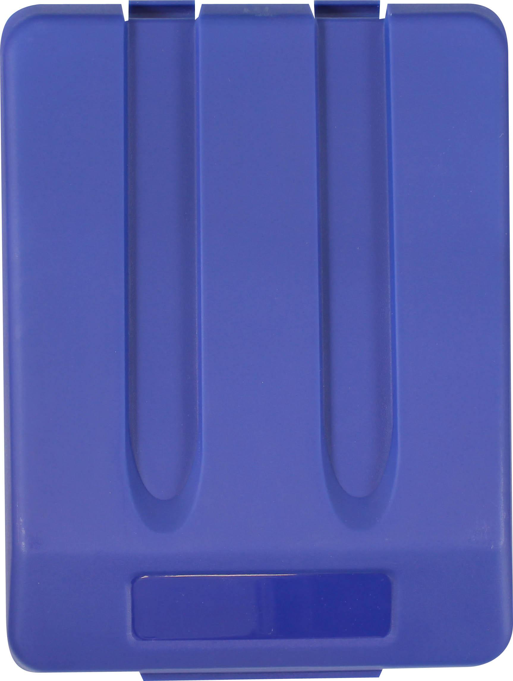 Odpadkový koš na tříděný odpad - víko / modrá