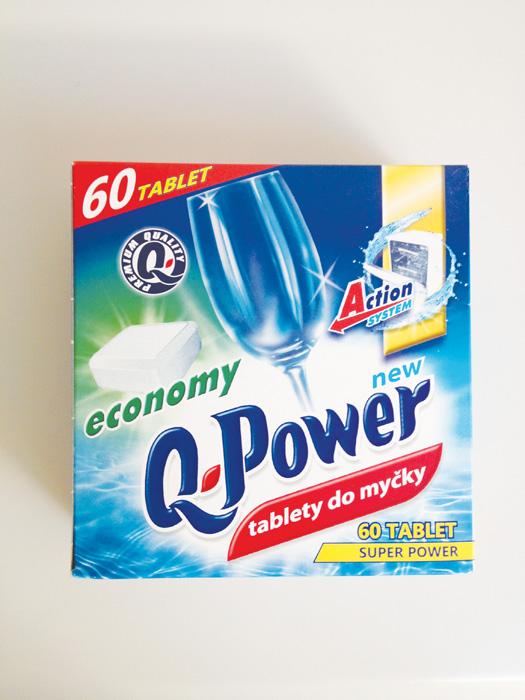 Prostředky do myčky - Q-Power / tablety 60 ks