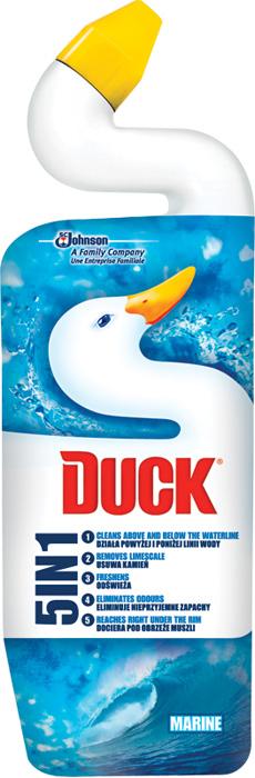 Duck WC Ultra gel 5v1 - Marine / 750 ml