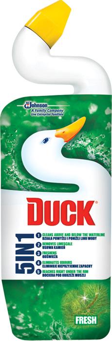 Duck WC Ultra gel 5v1 - Fresh / 750 ml